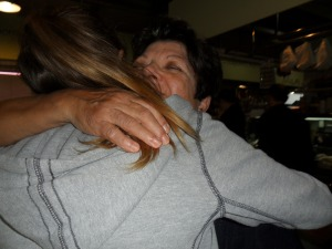 Abraçada